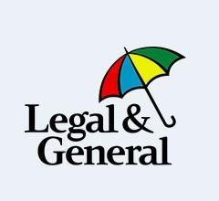 Legal and General Logo, Multicoloured Umbrella