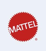 Mattel Toys Red Brand Logo